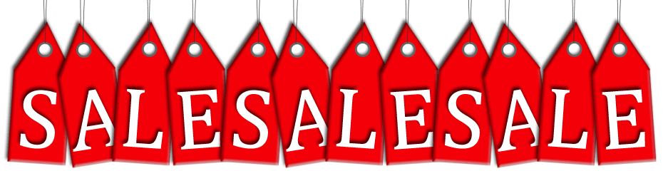 SALE items and Special Offers