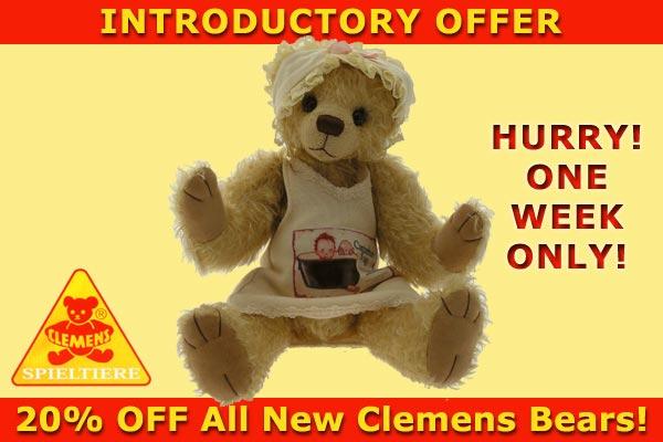 New Clemens Spieltiere Bears