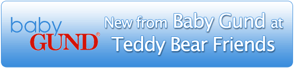 New baby teddy bears by Gund