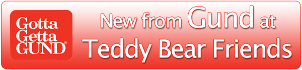 New teddy bears by Gund