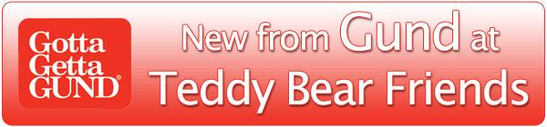 New teddy bears by Gund