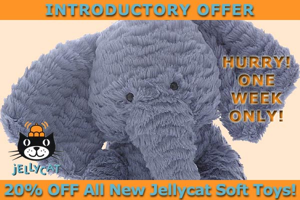 Jellycat Soft Toys and Teddy Bears
