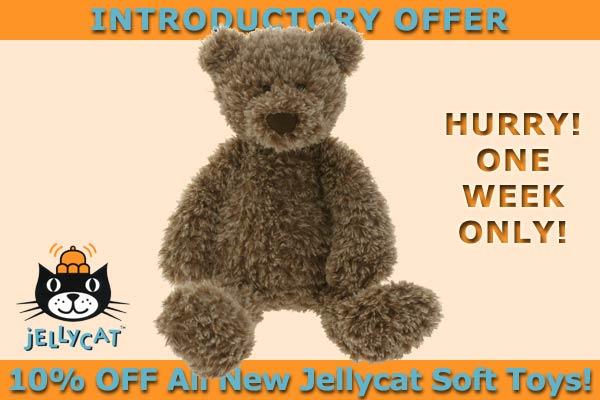 New Jellycat soft toys