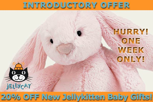 New Jellykitten Baby Gifts