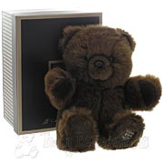 Medium Fluffy Brown Bear