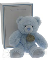 Musical Blue Teddy Bear