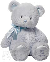 Extra Large Blue Baby Teddy Bear