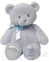 Large Blue Baby Teddy Bear