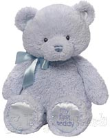 Medium Blue Baby Teddy Bear