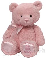 Medium Pink Baby Teddy Bear