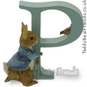 Peter Rabbit Alphabet Letter P