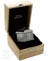 Pewter Coin Box in Gift Box