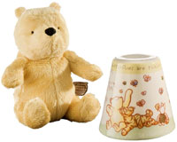 Pooh Bear Toy and Money Box