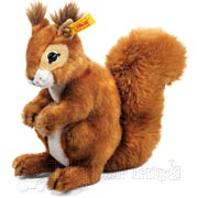 Mohair Toy Squirrel by Steiff
