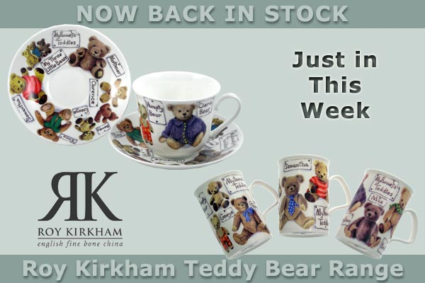 Roy Kirkham Teddy Bear range back in stock