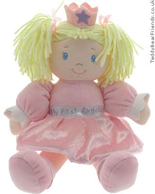 Baby Gund 1st Birthday Doll