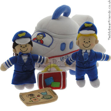 Baby Gund Up Up And Away Airplane Playset