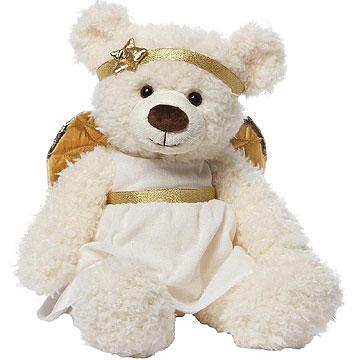 Gund Angel Teddy Bear