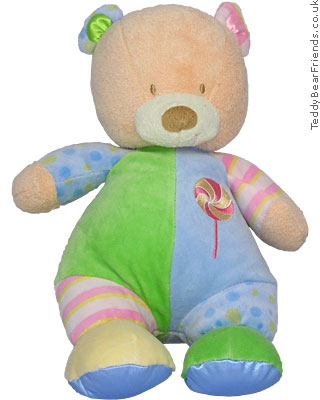 Asthma Friendly Colourblock Bear