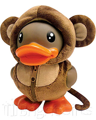 Rainbow Designs B Duck Monkey Money Bank