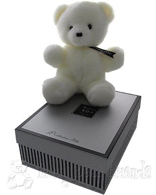 Histoire d'Ours Baby Bear White