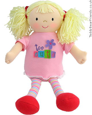 Gund Giggling Girls Too Cute Doll