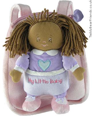 Baby Gund My Little Baby Backpack Playset Jada