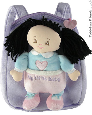 Baby Gund My Little Baby Backpack Playset Kim