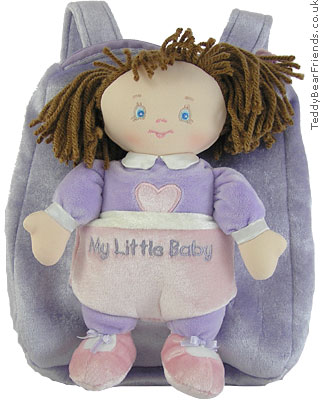 Baby Gund My Little Baby Backpack Playset Kylah