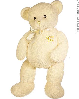 Baby Gund My First Teddy Cream