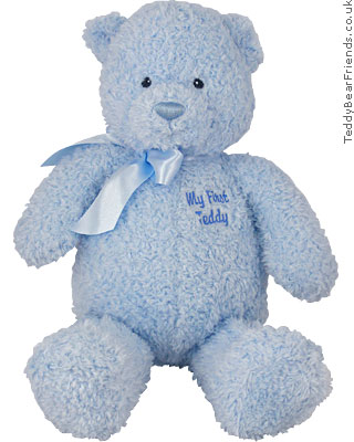 Baby Gund My First Teddy Blue