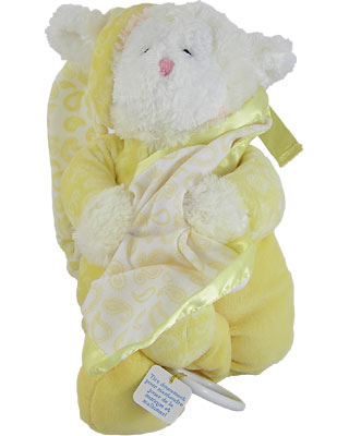 Baby Gund Paisley Collection Lamb Light Up Musical