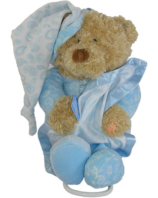 Baby Gund Paisley Collection Bear Light Up Musical