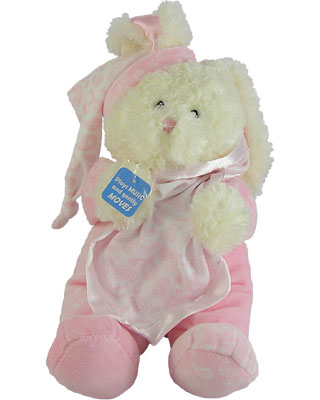 Baby Gund Paisley Collection Bunny Motion Musical
