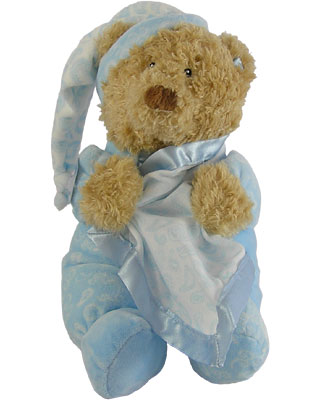 Baby Gund Paisley Collection Bear Motion Musical