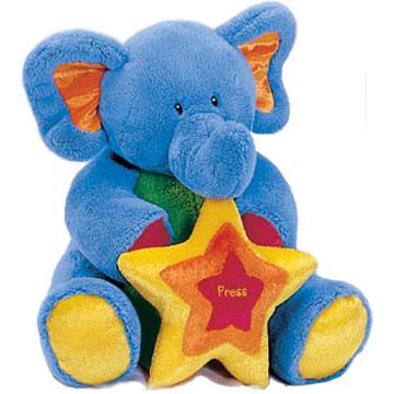 Baby Gund Tutti Frutti plush musical elephant