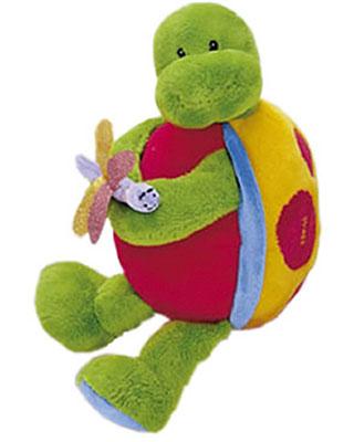 Baby Gund Tutti Frutti plush musical turtle