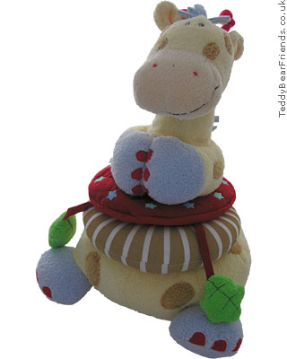 Baby Gund Woodles Gazoo Giraffe Stacking Toy