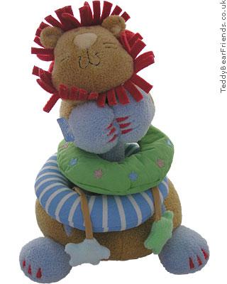 Baby Gund Woodles Rumba Lion Stacking Toy