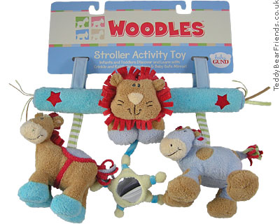 Baby Gund Woodles Stroller Activity Toy