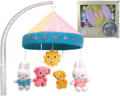 Augusta Du Bay Miffy Baby Musical Mobile
