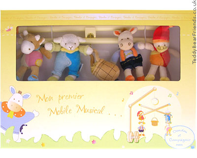 Doudou Et Compagnie Baby Musical Mobile