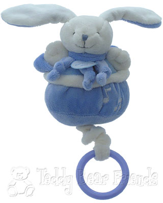 Doudou et Compagnie Baby Musical Pullstring Bunny