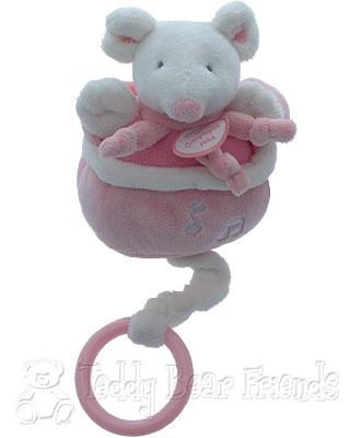 Doudou et Compagnie Baby Musical Pullstring Mouse