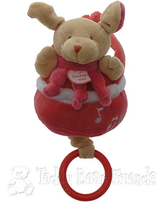 Doudou et Compagnie Baby Musical Pullstring Puppy Dog