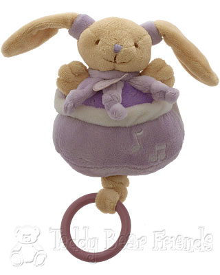 Doudou et Compagnie Baby Pullstring Musical Bunny