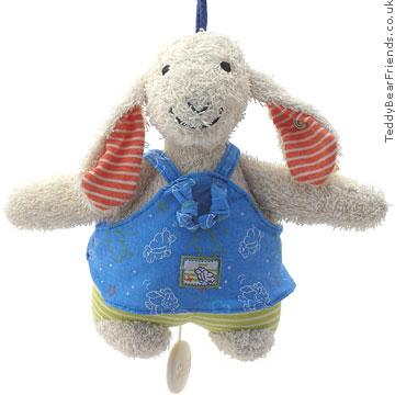 Steiff Baby Blue Musical Lamb