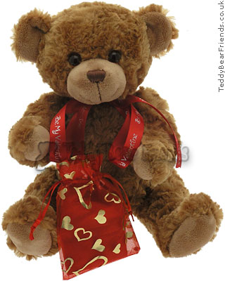 Teddy Bear Friends Exclusive Be My Valentine Bear