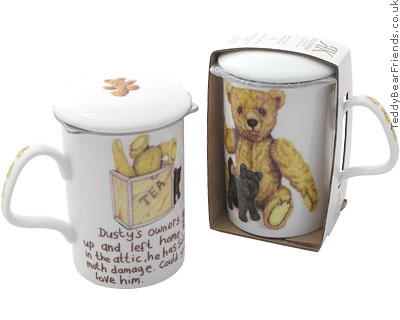 Roy Kirkham Bear Mug and Tea Infuser