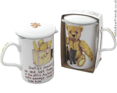 Roy Kirkham Bear Mug and Tea Infuser